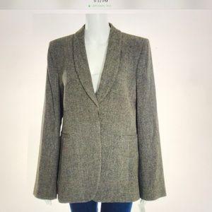 Armani Collezioni Brown Wool Blazer